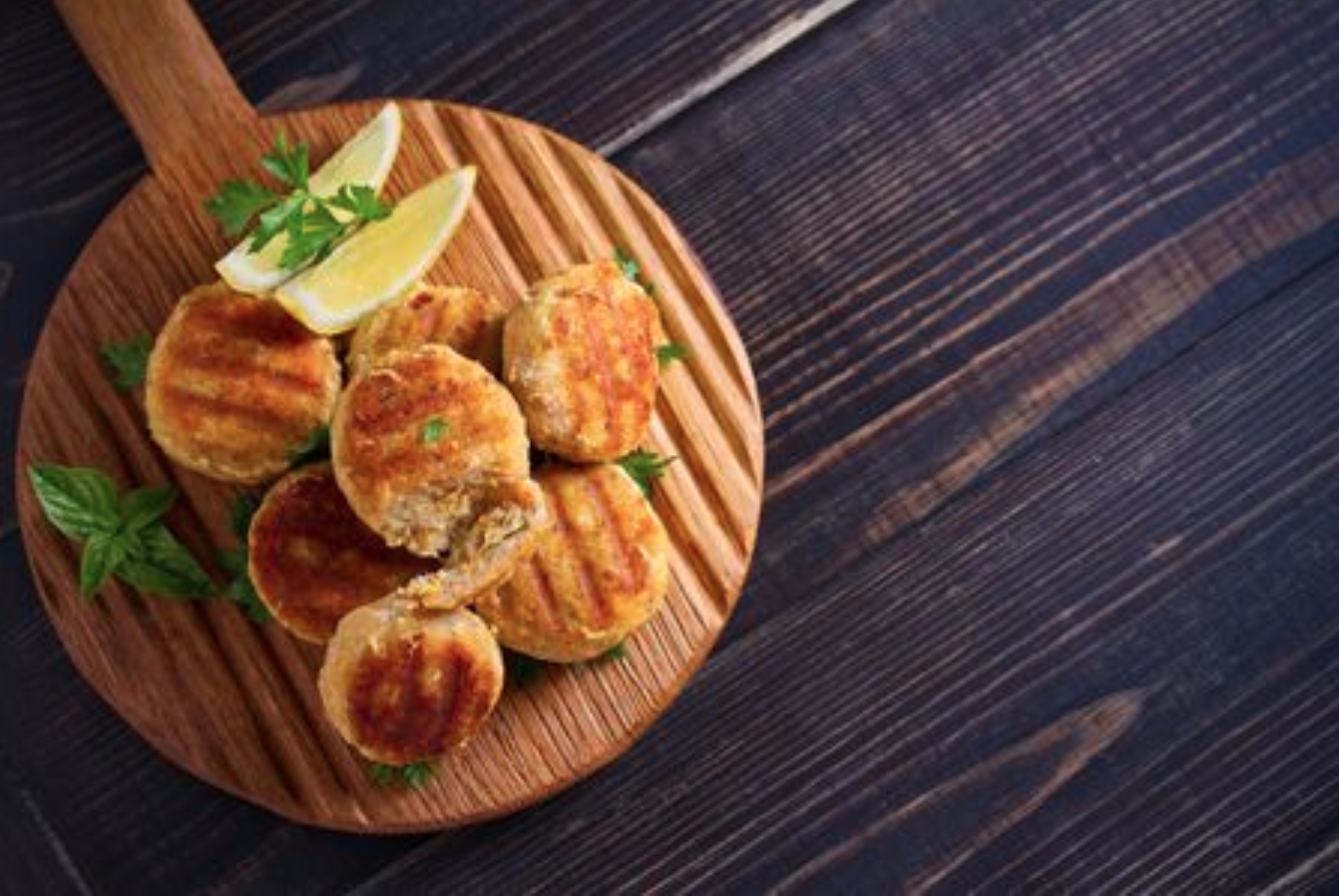 Tuna Cakes With Coconut