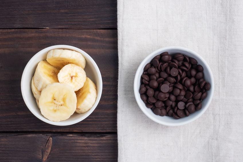 Slstuffed Banana Paleo for dessert